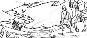 The Alchemist : Desert : Sketch