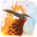 Inktober 2015 #11 - Phoenix