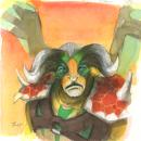 Inktober 2015 #19 - Elder Titan