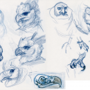 Fancy Animals - Sketches