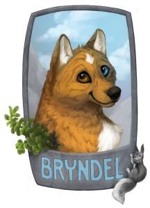 Bryndel Badge - 2014