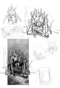 Standoff - Sketches 1