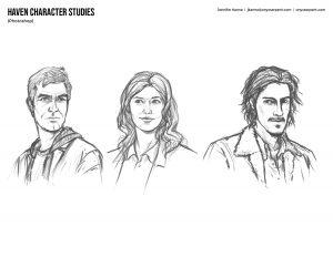 Haven Character Studies