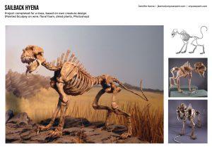 Sailback Hyena