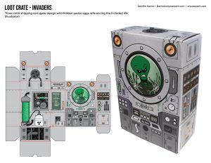 Loot Crate - Invaders